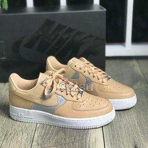 huge discount 33bce 8a78c Nike Shoes - NWT Nike Air Force 1 07 SE PRM bio beige WMNS